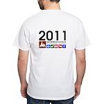 Snowmopalooza White T-Shirt
