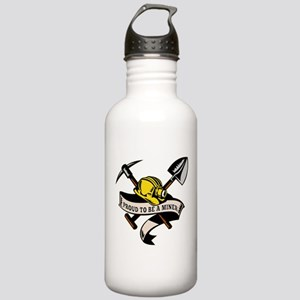 coal miner mining Stainless Water Bottle 1.0L