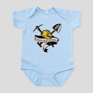 coal miner mining Infant Bodysuit