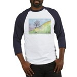 California Tree Watercolor Baseball Jersey