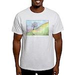 California Tree Watercolor Light T-Shirt