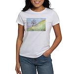 California Tree Watercolor Women's T-Shirt