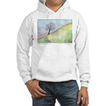 California Tree Watercolor Hooded Sweatshirt