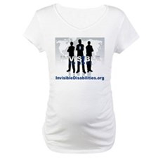 Invisible No More Team Maternity T-Shirt
