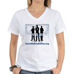 Invisible No More Team Women's V-Neck T-Shirt