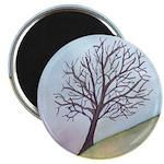 California Tree Watercolor Magnet