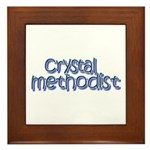 Crystal Methodist Framed Tile
