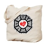 Red Heart Dharma Tote Bag
