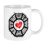 Red Heart Dharma Mug