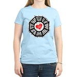 Red Heart Dharma Women's Light T-Shirt