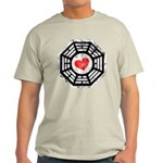 Red Heart Dharma Light T-Shirt