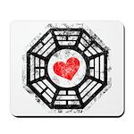 Red Heart Dharma Mousepad