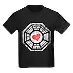 Red Heart Dharma Kids Dark T-Shirt