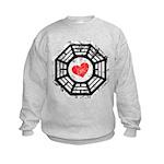 Red Heart Dharma Kids Sweatshirt