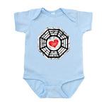 Red Heart Dharma Infant Bodysuit