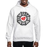 Red Heart Dharma Hooded Sweatshirt