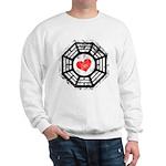Red Heart Dharma Sweatshirt