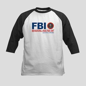 Criminal Minds FBI BAU Kids Baseball Jersey