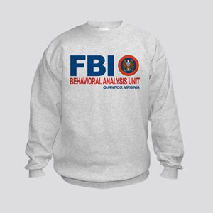 Criminal Minds FBI BAU Kids Sweatshirt