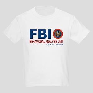Criminal Minds FBI BAU Kids Light T-Shirt