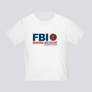 Criminal Minds FBI BAU Toddler T-Shirt