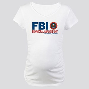 Criminal Minds FBI BAU Maternity T-Shirt