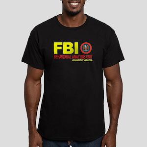 Criminal Minds FBI BAU Men's Fitted T-Shirt (dark)