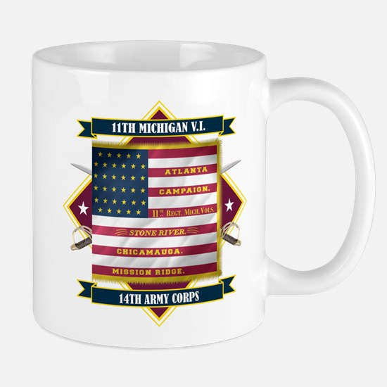 11th Michigan Mug