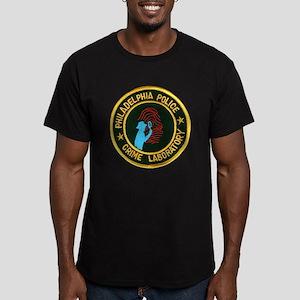 Philadelphia Police Crime Lab Men's Fitted T-Shirt