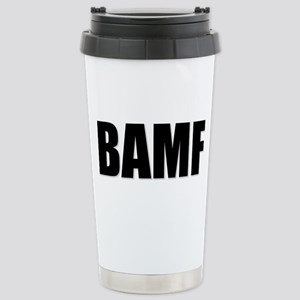 Bad Ass Mother... Stainless Steel Travel Mug