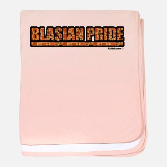 Blasian Pride Baby Blanket