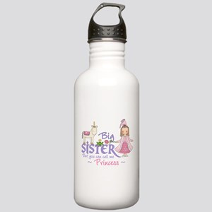 Unicorn Princess Big Sister Stainless Water Bottle