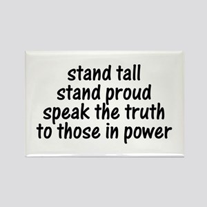 Tall Proud Truth Rectangle Magnet