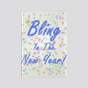 Bling in the New Year! Rectangle Magnet