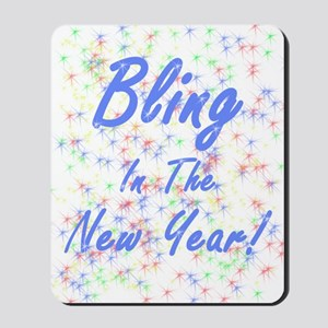 Bling in the New Year! Mousepad