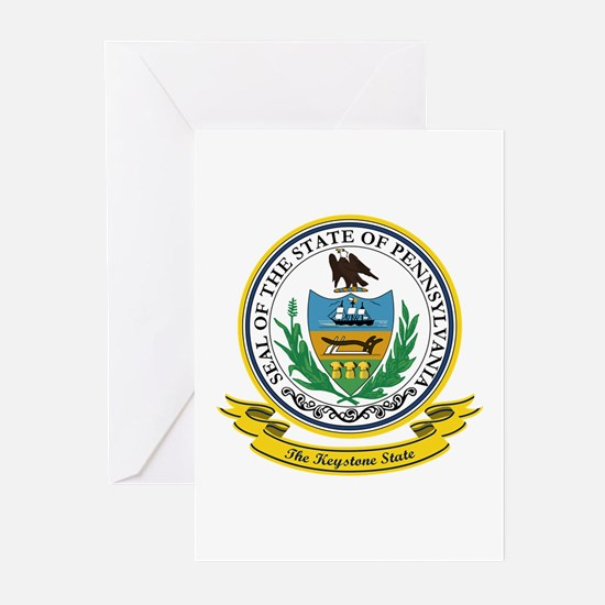 Pennsylvania Seal Greeting Cards (Pk of 10)