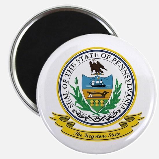Pennsylvania Seal Magnet