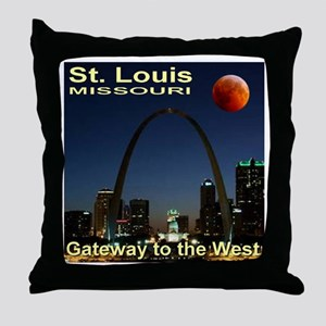 St. Louis Gateway To The West Throw Pillow