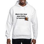 violins in television Hooded Sweatshirt