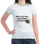 violins in television Jr. Ringer T-Shirt