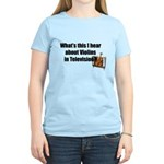 violins in television Women's Light T-Shirt