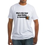 violins in television Fitted T-Shirt