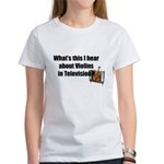 violins in television Women's T-Shirt