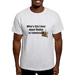 violins in television Light T-Shirt