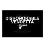 Dishonorable Vendetta Postcards (Package of 8)