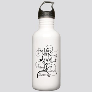 Love of Family Stainless Water Bottle 1.0L