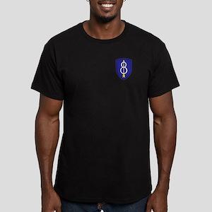 Golden Arrow Men's Fitted T-Shirt (dark)
