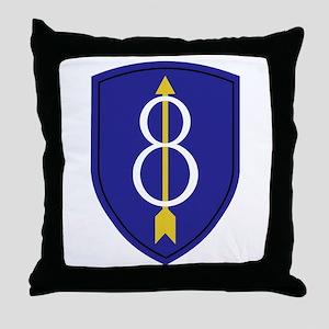 Golden Arrow Throw Pillow