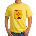 ILY New Mexico Yellow T-Shirt