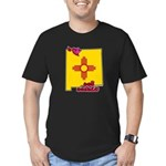 ILY New Mexico Men's Fitted T-Shirt (dark)